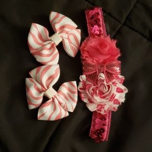 Pretty in pink hair bundle